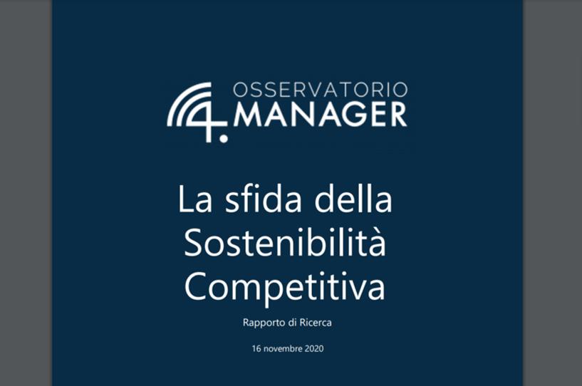 La sfida della Sostenibilità competitiva